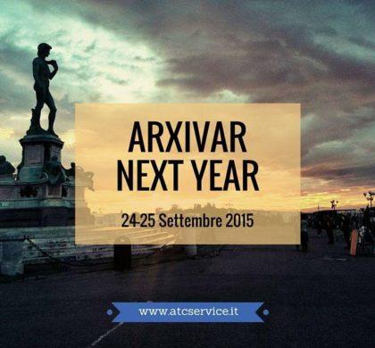 ARXivar Next Year 24-25 Settembre 2015 Novità e release 6.0