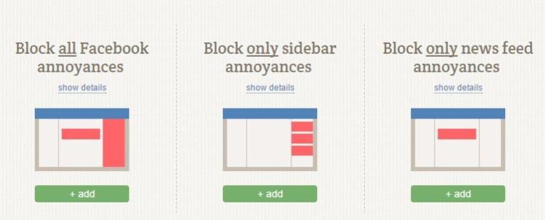 impostare filtro adblock per limitare notifiche da facebook