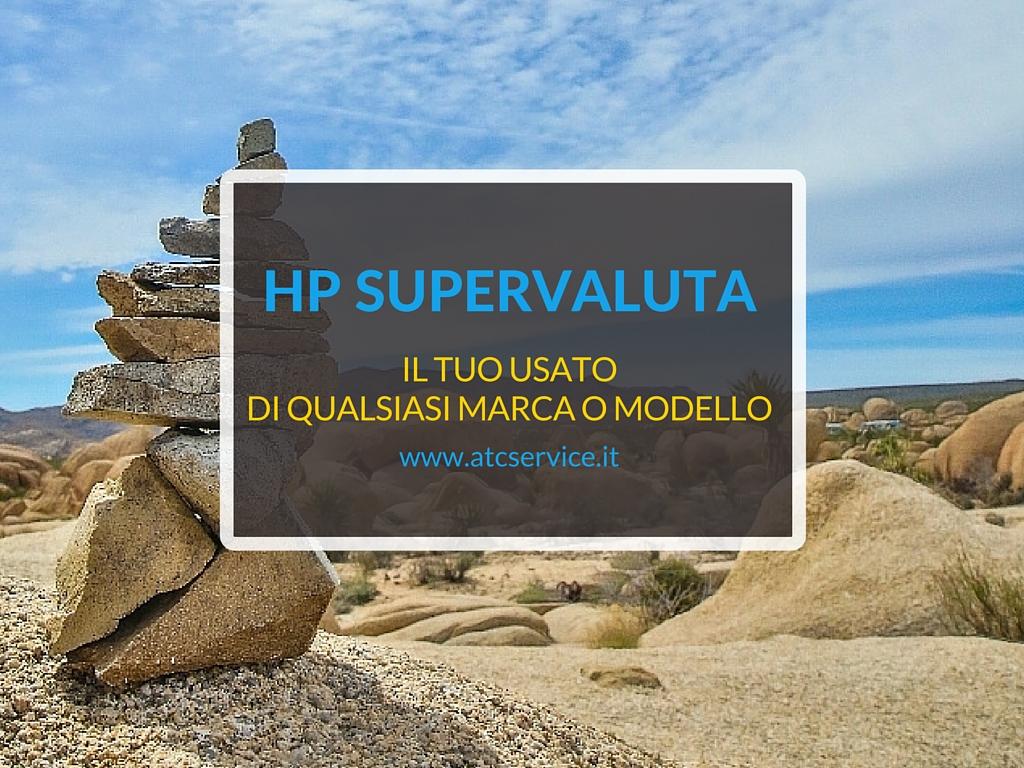 Supervalutazione usato HP