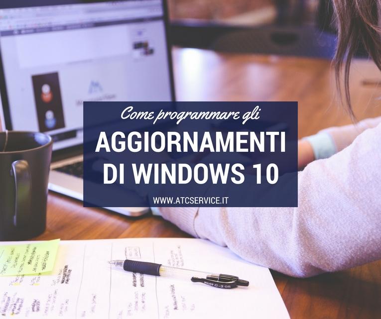 aggiornamenti di windows 10
