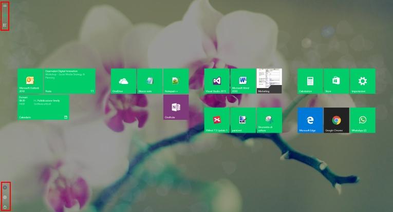 Come personalizzare il menu start di windows 10 atc service