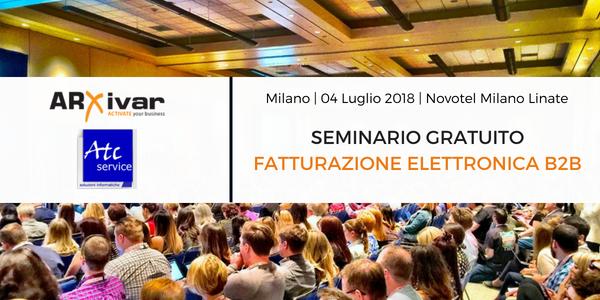 Evento Milano ARXivar Fatturazione elettronica